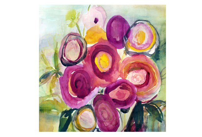 Picture-30X30 Spring Bouquet - 360