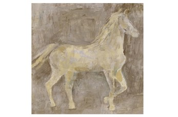 Picture-36X36 Gentle Horse I