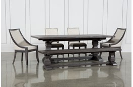 Norwood 6 Piece Rectangle Extension Dining Set