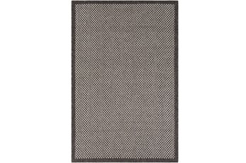 60X90 Outdoor Rug-Mylos Check Brown/Grey