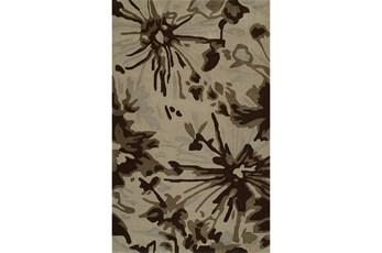 96X120 Rug-Floral Burst Taupe