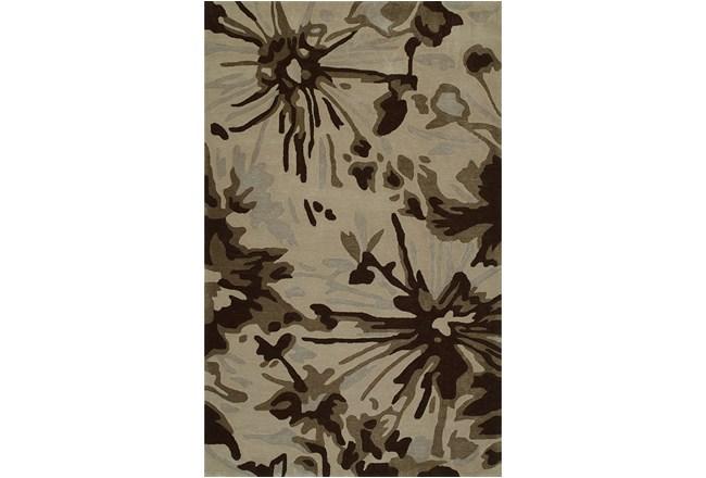 108X156 Rug-Floral Burst Taupe - 360