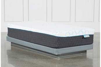 H2 Firm Hybrid Twin Mattress W/Low Profile Foundation