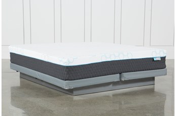 H2 Firm Hybrid Cal King Mattress W/Low Profile Foundation