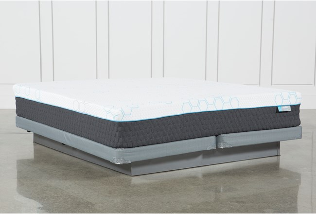 H2 Firm Hybrid Cal King Mattress W/Low Profile Foundation - 360