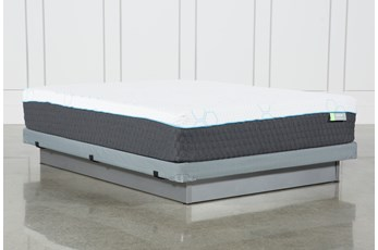 H2 Medium Hybrid Full Mattress W/Low Profile Foundation
