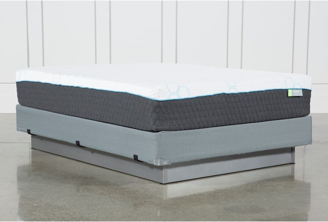 H2 Medium Hybrid Queen Mattress W/Foundation - 360