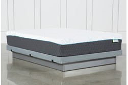 Kit-Revive H2 Medium Hybrid Queen Mattress W/Low Profile Foundation