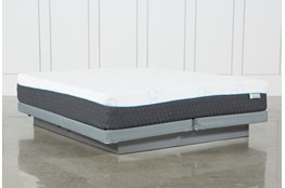 H2 Medium Hybrid Cal King Mattress W/Low Profile Foundation