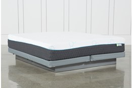 H2 Medium Hybrid Eastern King Mattress W/Low Profile Foundation