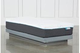 Kit-Revive H2 Plush Hybrid Twin Extra Long Mattress W/Low Profile Foundation