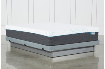 H2 Plush Hybrid Full Mattress W/Low Profile Foundation