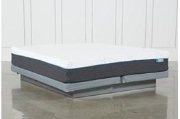 H2 Plush Hybrid Cal King Mattress W/Low Profile Foundation