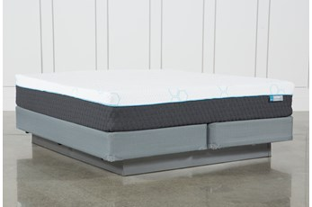 H2 Plush Hybrid Eastern King Mattress W/Foundation