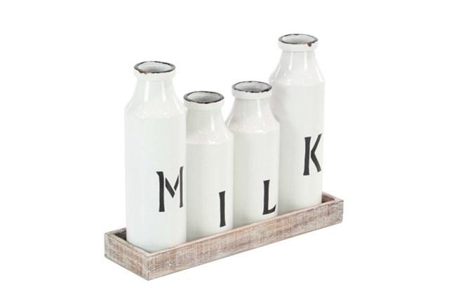 Milk Bottle Tray Set - 360