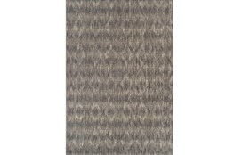 61X84 Outdoor Rug-Grey Distressed Damask