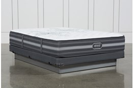 Calista Extra Firm Full Mattress W/Low Profile Foundation
