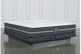 Calista Extra Firm Cal King Mattress W/Low Profile Foundation