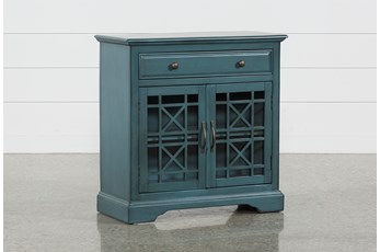 Annabelle Blue Accent Chest
