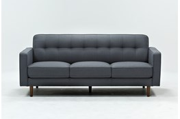 "London Dark Grey 82"" Sofa"