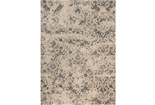 63X92 Rug-Magnolia Home Kivi Ivory/Ink By Joanna Gaines - 360