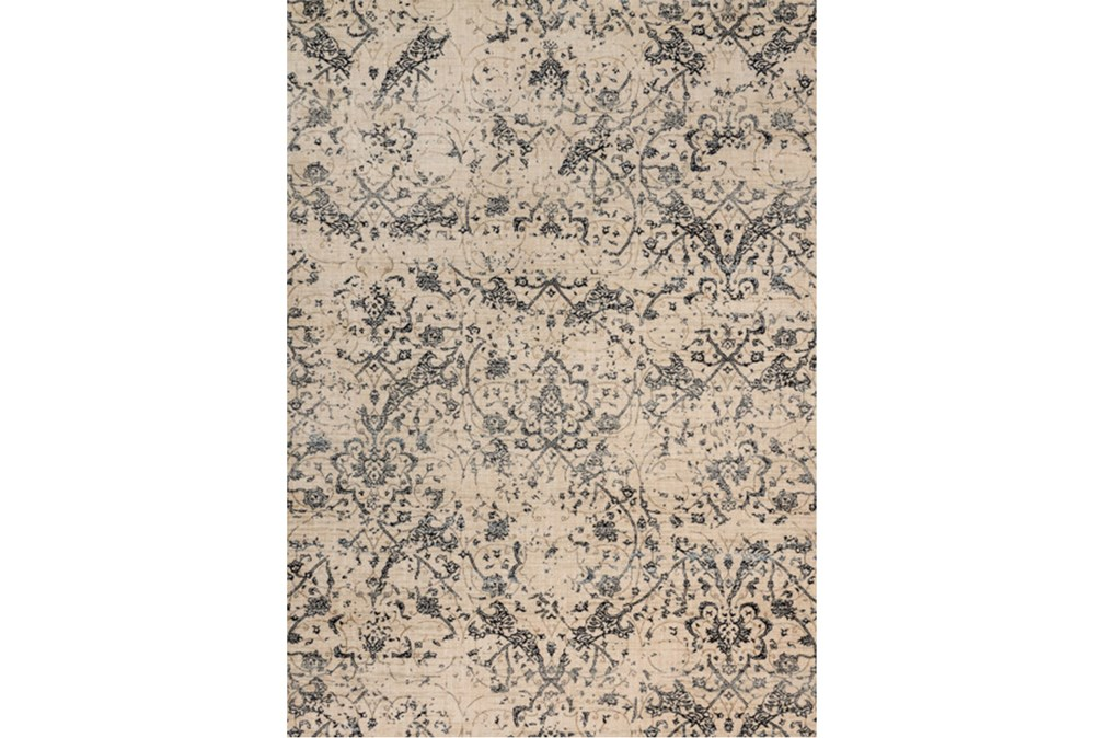 94X130 Rug-Magnolia Home Kivi Ivory/Ink By Joanna Gaines