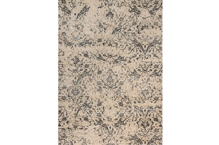 94X130 Rug-Magnolia Home Kivi Ivory/Ink By Joanna Gaines