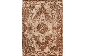 94X130 Rug-Magnolia Home Kivi Sand/Rust By Joanna Gaines