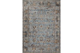 94X130 Rug-Magnolia Home Kivi Lt Blue/Clay By Joanna Gaines