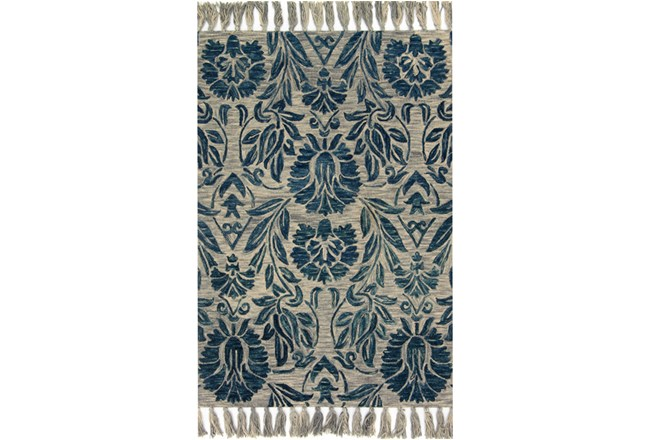 60X90 Rug-Magnolia Home Jozie Day Blue By Joanna Gaines - 360