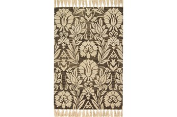 60X90 Rug-Magnolia Home Jozie Day Charcoal By Joanna Gaines