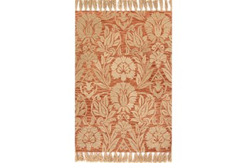 93X117 Rug-Magnolia Home Jozie Day Persimmon By Joanna Gaines