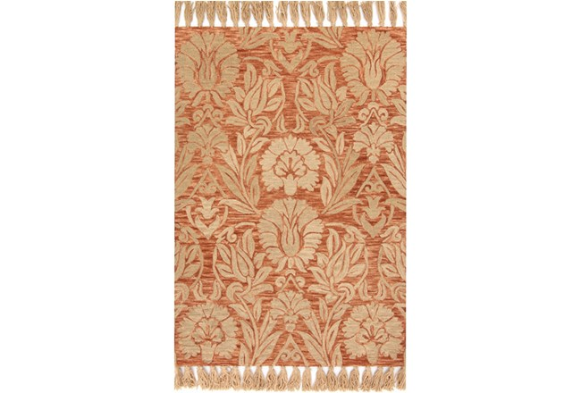 93X117 Rug-Magnolia Home Jozie Day Persimmon By Joanna Gaines - 360