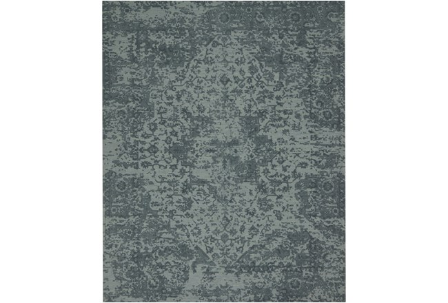 93X117 Rug-Magnolia Home Lily Park Teal By Joanna Gaines - 360