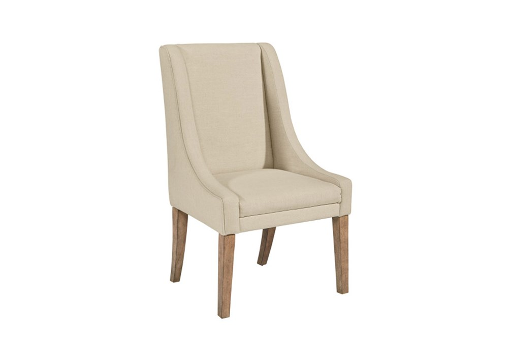 Magnolia Home Demi Linen Wing Side Chair By Joanna Gaines
