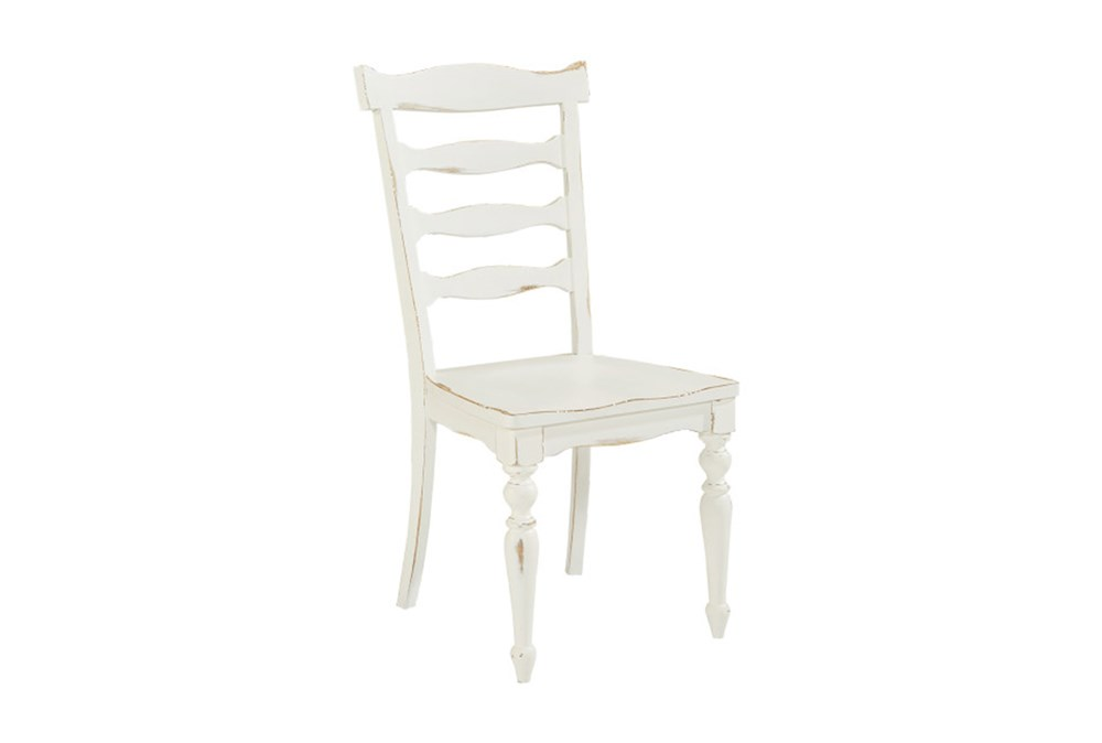 Magnolia Home Ellis White Side Chair By Joanna Gaines
