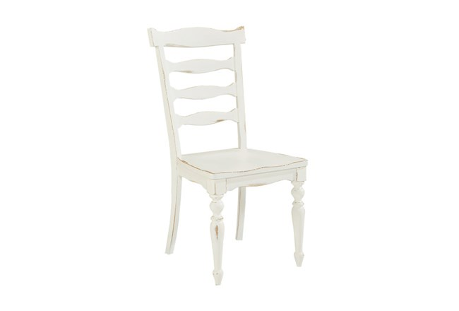 Magnolia Home Ellis White Side Chair By Joanna Gaines - 360