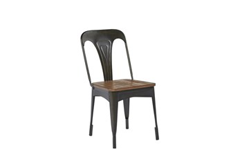Magnolia Home Metal Cafe Side Chair By Joanna Gaines