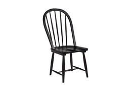 Magnolia Home Windsor Jo'S Black Hoop Chair By Joanna Gaines