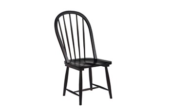 Magnolia Home Windsor Jo'S Black Hoop Chair By Joanna Gaines