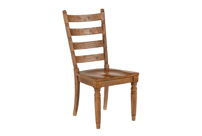 Magnolia Home Slat Back Bench Side Chair By Joanna Gaines - 360