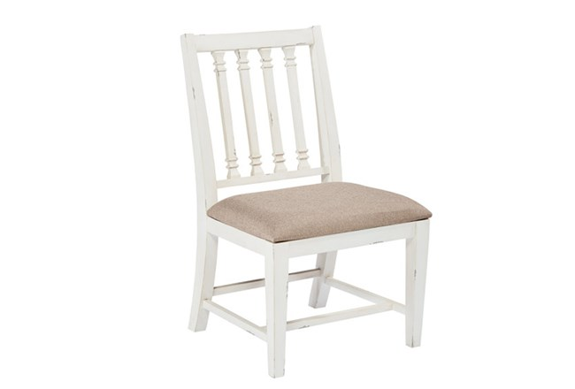 Magnolia Home Revival Jo'S White Side Chair By Joanna Gaines - 360