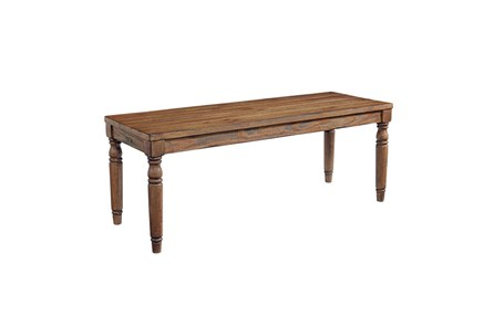 Magnolia Home Taper Turned Bench By Joanna Gaines