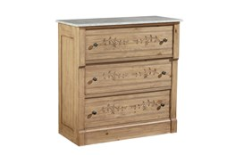 Magnolia Home Vine Marble Top Chest By Joanna Gaines