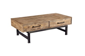 Magnolia Home Pier And Beam Cocktail Table By Joanna Gaines