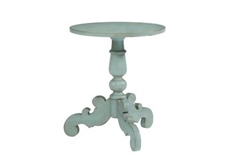 Magnolia Home Tripod French Blue Hall Table By Joanna Gaines