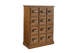 Magnolia Home Bin Bench 12 Drawer Chest By Joanna Gaines
