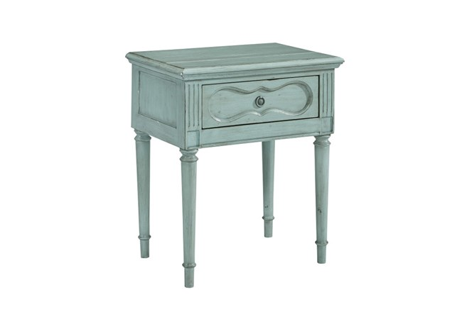 Magnolia Home Cameo French Blue Night Table By Joanna Gaines - 360
