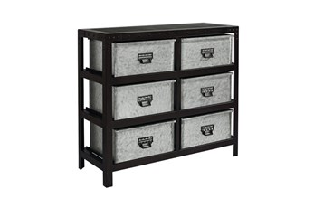 Magnolia Home Metal Storage Bin Chest By Joanna Gaines