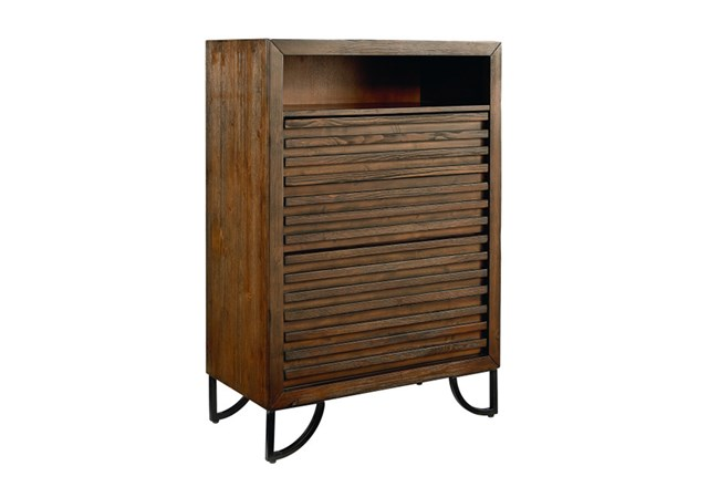 Magnolia Home Stacked Slat Chest Of Drawers By Joanna Gaines - 360